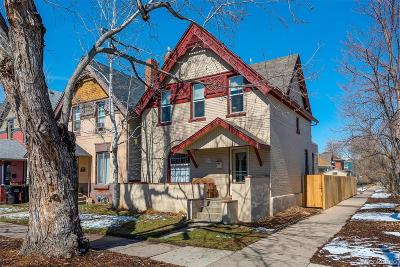 Denver Single Family Home Active: 1539 East 30th Avenue
