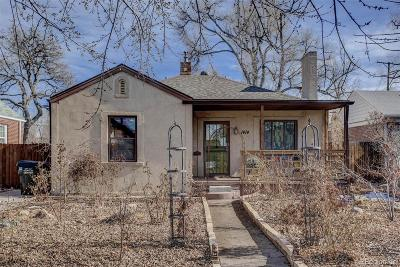 Denver Single Family Home Active: 1414 Olive Street