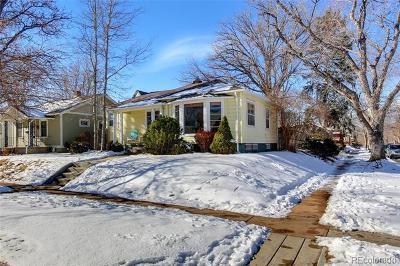 Denver Single Family Home Active: 1701 South Corona Street