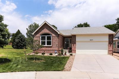 Highlands Ranch Single Family Home Under Contract: 4871 Greenwich Drive