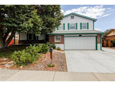 Westminster Single Family Home Under Contract: 11080 Kendall Way