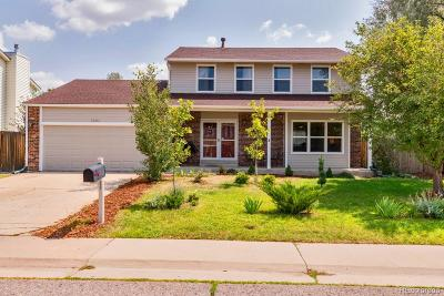 Centennial Single Family Home Under Contract: 5582 South Zeno Court