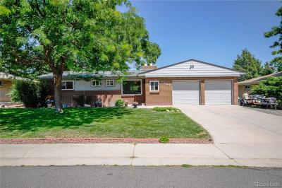 Arvada Single Family Home Active: 6243 West 62nd Avenue