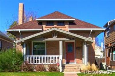 Denver Single Family Home Active: 2639 Vine Street