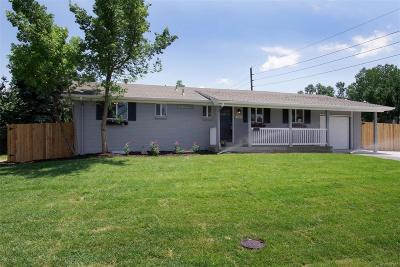Centennial Single Family Home Under Contract: 7159 South Lincoln Way