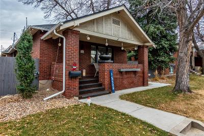 Denver CO Single Family Home Active: $895,000