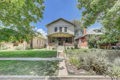 Denver CO Single Family Home Active: $950,000