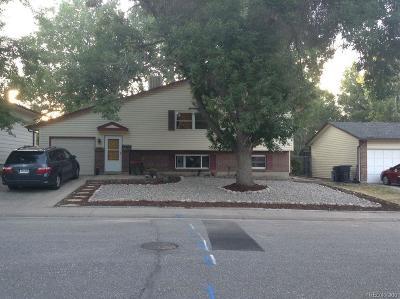 Denver Single Family Home Active: 3619 South Newland Street