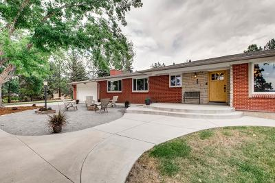 Castle Rock Single Family Home Under Contract: 140 Baldwin Ranch Road