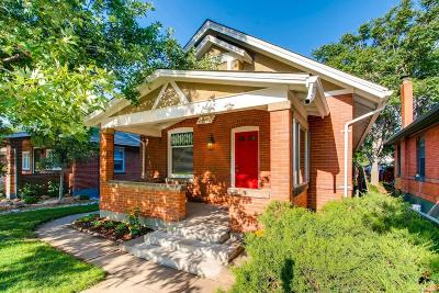 Denver Single Family Home Active: 1447 South Sherman Street