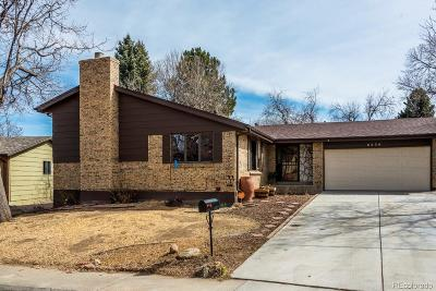Arapahoe County Single Family Home Active: 6534 South Clermont Court