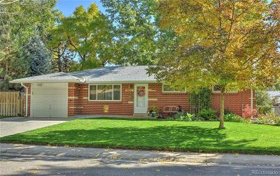 Arvada Single Family Home Under Contract: 5980 Field Street