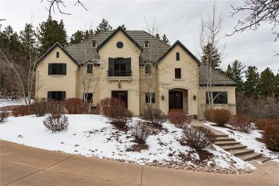 Castle Rock CO Single Family Home Under Contract: $1,700,000