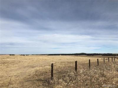 Elbert CO Residential Lots & Land Active: $225,000