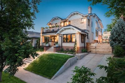 Denver Single Family Home Active: 528 South Corona Street