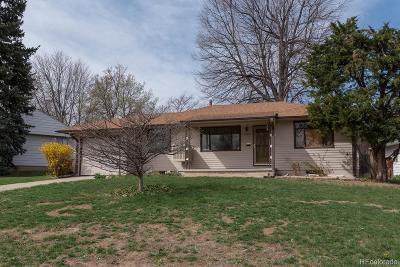Denver CO Single Family Home Active: $460,000