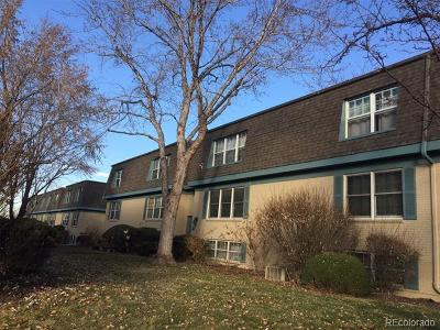 Denver Condo/Townhouse Active: 9230 East Girard Avenue #11