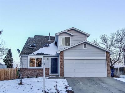 Centennial Single Family Home Under Contract: 4862 South Dunkirk Way