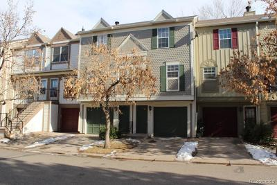 Denver Condo/Townhouse Active: 1811 South Quebec Way #93