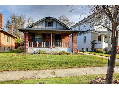 Denver Single Family Home Active: 486 South Williams Street