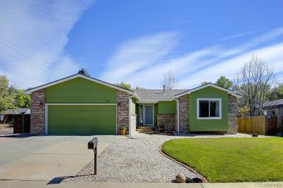 Arvada Single Family Home Under Contract: 6396 Otis Street