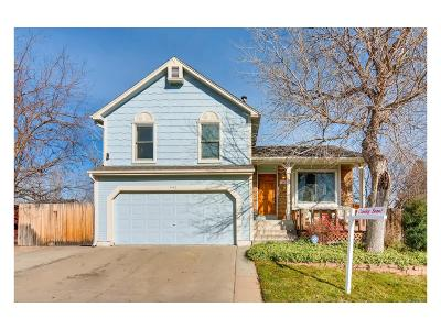 Broomfield Single Family Home Under Contract: 445 Chestnut Way