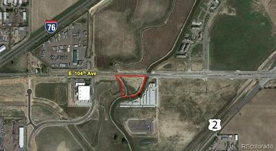 Commerce City Residential Lots & Land Active: East 104th Avenue