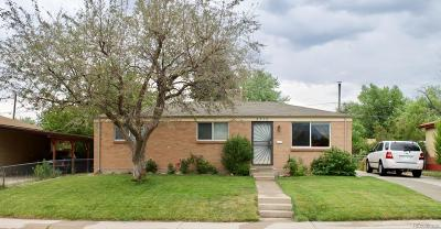 Westminster Single Family Home Under Contract: 8910 Ithaca Way