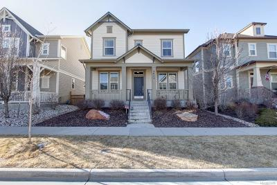 Denver Single Family Home Active: 3473 Ulster Street