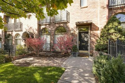 Denver Condo/Townhouse Active: 397 Madison Street