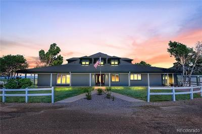 Hudson Single Family Home Active: 3892 County Road 45