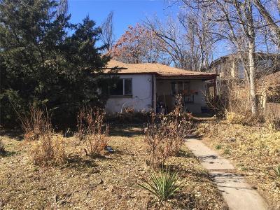 Denver Single Family Home Active: 855 Eudora Street