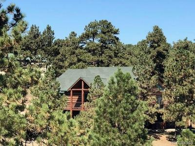 Kiowa Single Family Home Under Contract: 12877 Hilltop Place