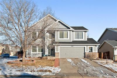 Castle Rock Single Family Home Under Contract: 5413 East Aspen Avenue