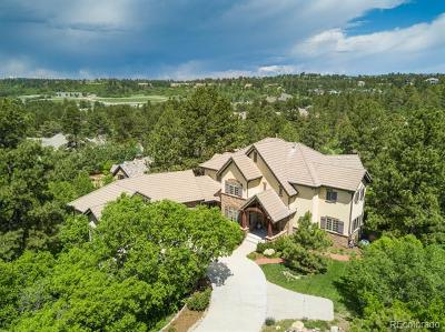 Castle Rock Single Family Home Active: 1076 Country Club Estates Drive