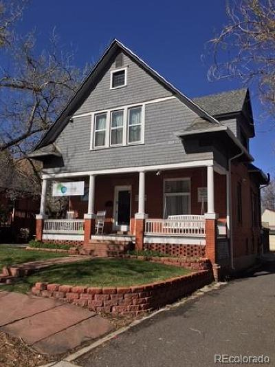 Denver Single Family Home Active: 425 Acoma Street