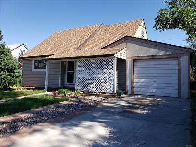 Aurora Single Family Home Active: 10555 Lowry Place