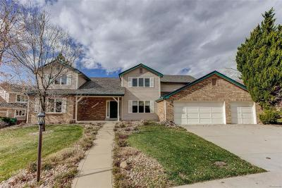 Arapahoe County Single Family Home Active: 5645 South Lewiston Court