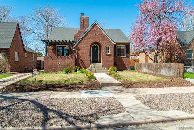Denver Single Family Home Active: 3063 Albion Street