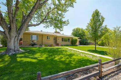 Wheat Ridge Single Family Home Active: 3320 Independence Court