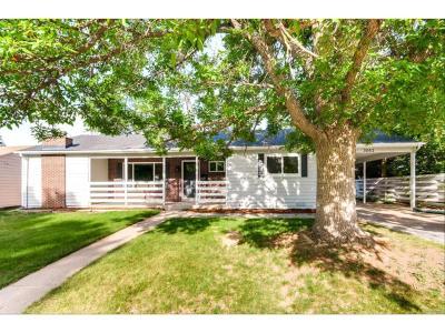 Denver CO Single Family Home Active: $579,900