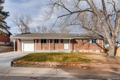 Denver Single Family Home Active: 109 West 81st Place