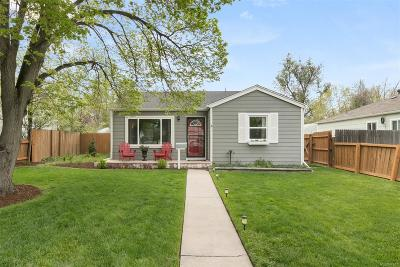 Denver Single Family Home Active: 1749 Wabash Street