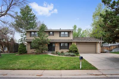 Littleton Single Family Home Under Contract: 7163 South Chase Way