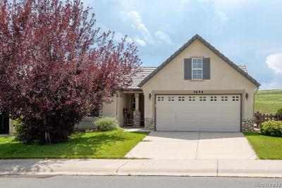Castle Rock Single Family Home Active: 3696 Wonder Drive