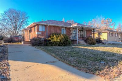 Arvada Single Family Home Under Contract: 6173 Brentwood Street