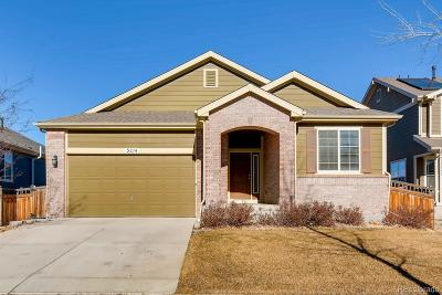 Frederick Single Family Home Under Contract: 3214 Lump Gulch Way