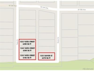 Denver Single Family Home Active: 1252 Yates Street