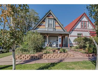 Denver Single Family Home Active: 903 East 23rd Avenue