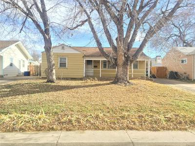 Arapahoe County Single Family Home Under Contract: 3260 South Galapago Street